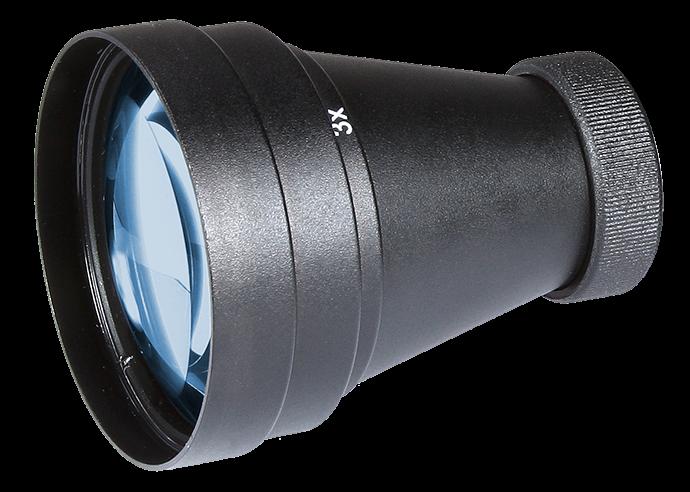 Armasight by Flir Spark Zubehör 3x Afocal Lens Kit : Lens #22 + Adapter #23