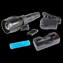 Armasight by Flir Spark Zubehör IR850-XLR abnehmbare LED Extra Long Range Infrarot Illuminator w / Dovetail to Weaver Transferstück # 21