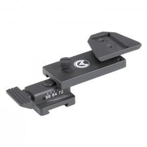 Flir Breach/Spark  Zubehör Swing Arm #172 Mini Rail to Dovetail Adapter